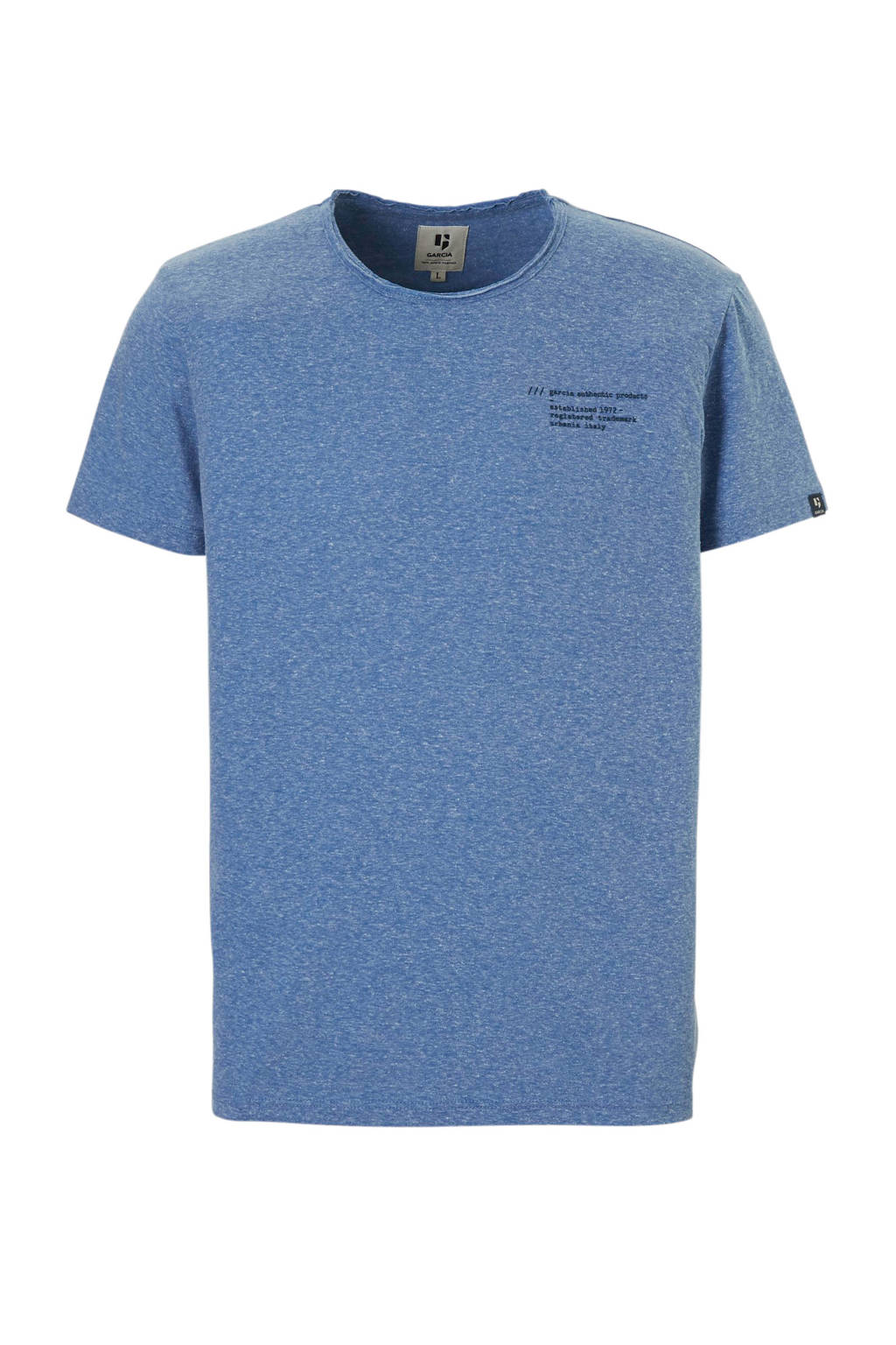 Blauw T Garcia Garcia shirt Gemêleerd HE29DWYeI