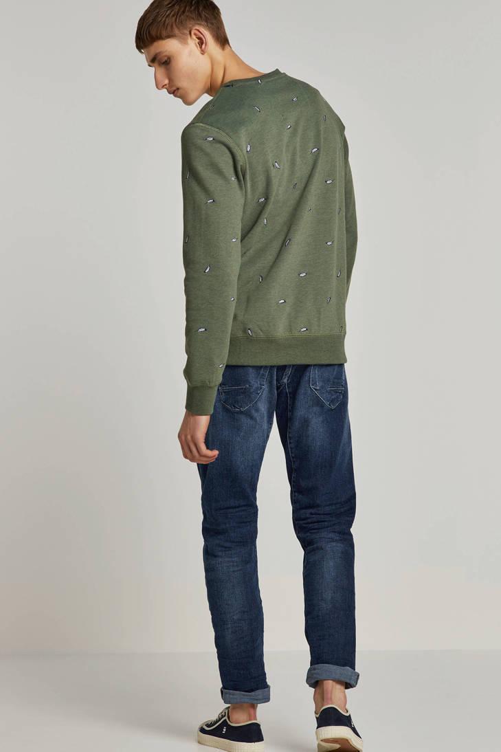 Garcia borduursels met Garcia gemêleerde gemêleerde sweater xYH5xqUw