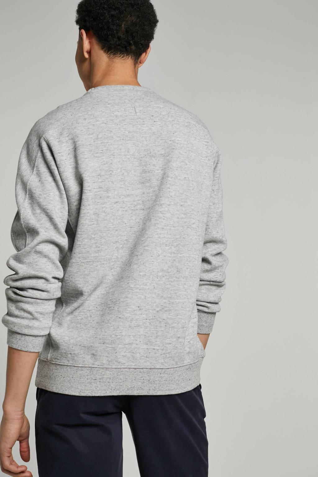 Garcia sweater met logo, Grijs