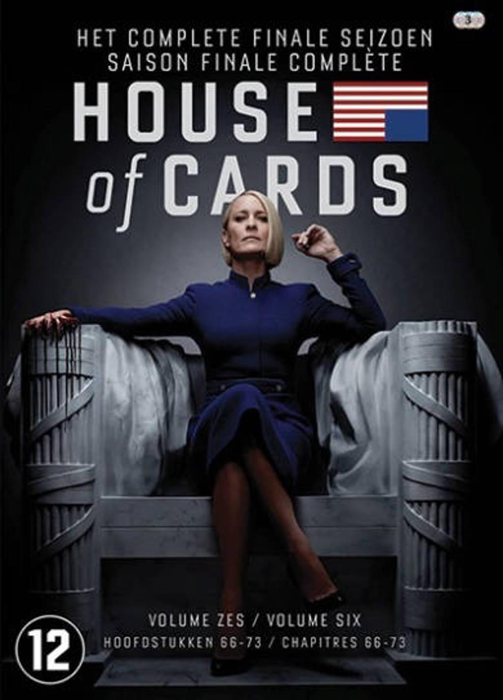 House of cards - Seizoen 6 (DVD)