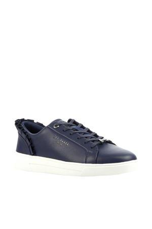 Astrina leren sneakers blauw