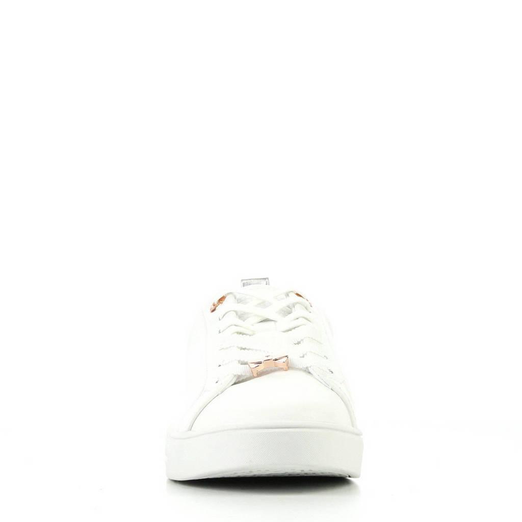 Ted Baker Sneakers Baker Wit Ted Leren rrnaTwzq1