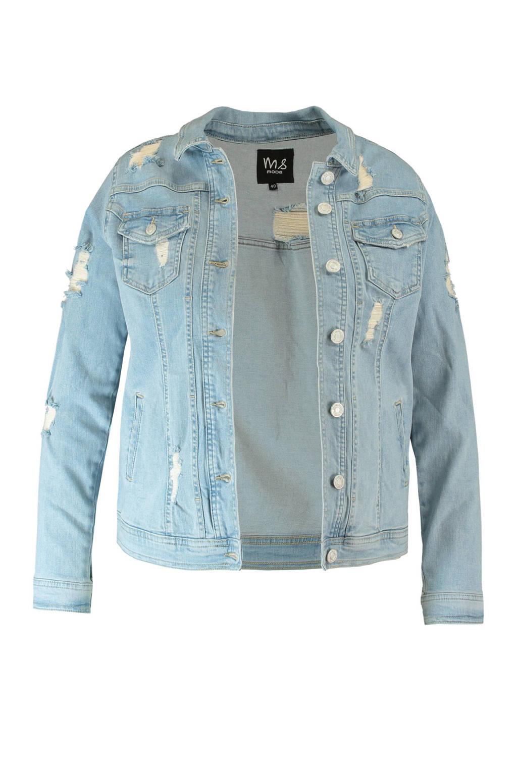 MS Mode spijkerjasje, Blauw