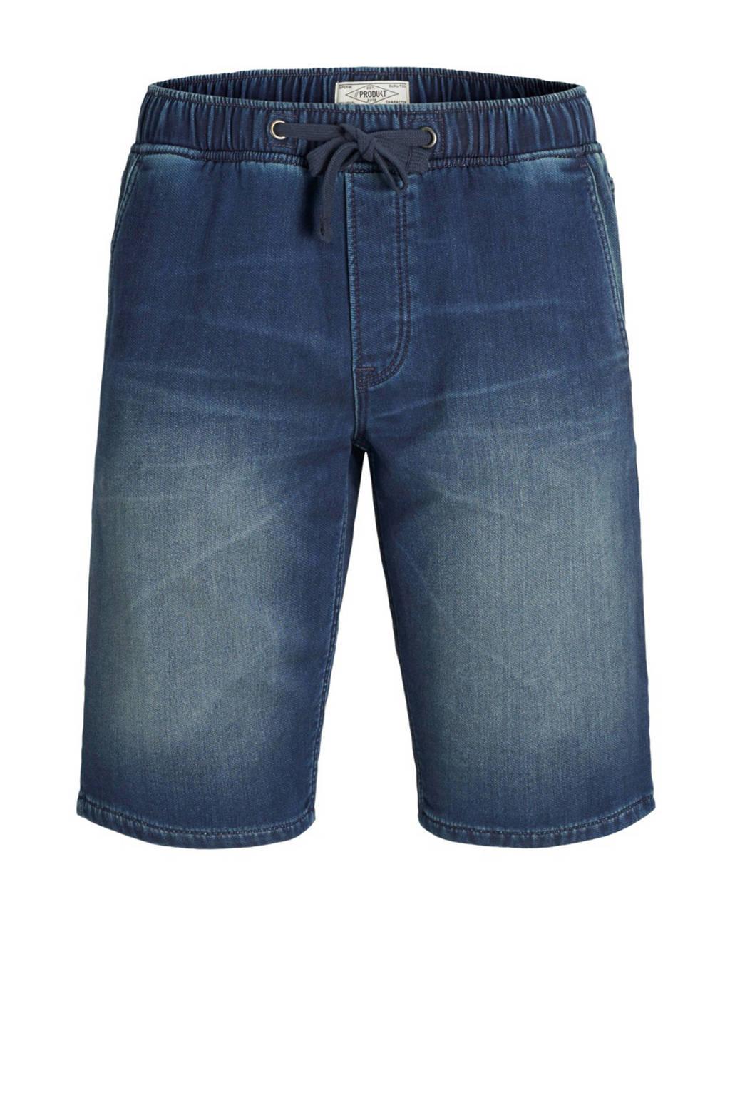 PRODUKT regular fit jeans short, Bleached denim