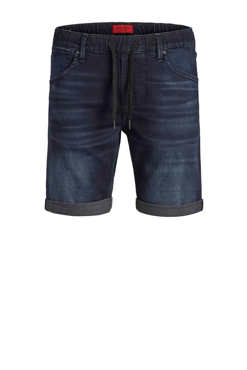 Jack & Jones Intelligence slim fit jeans short, Blue denim