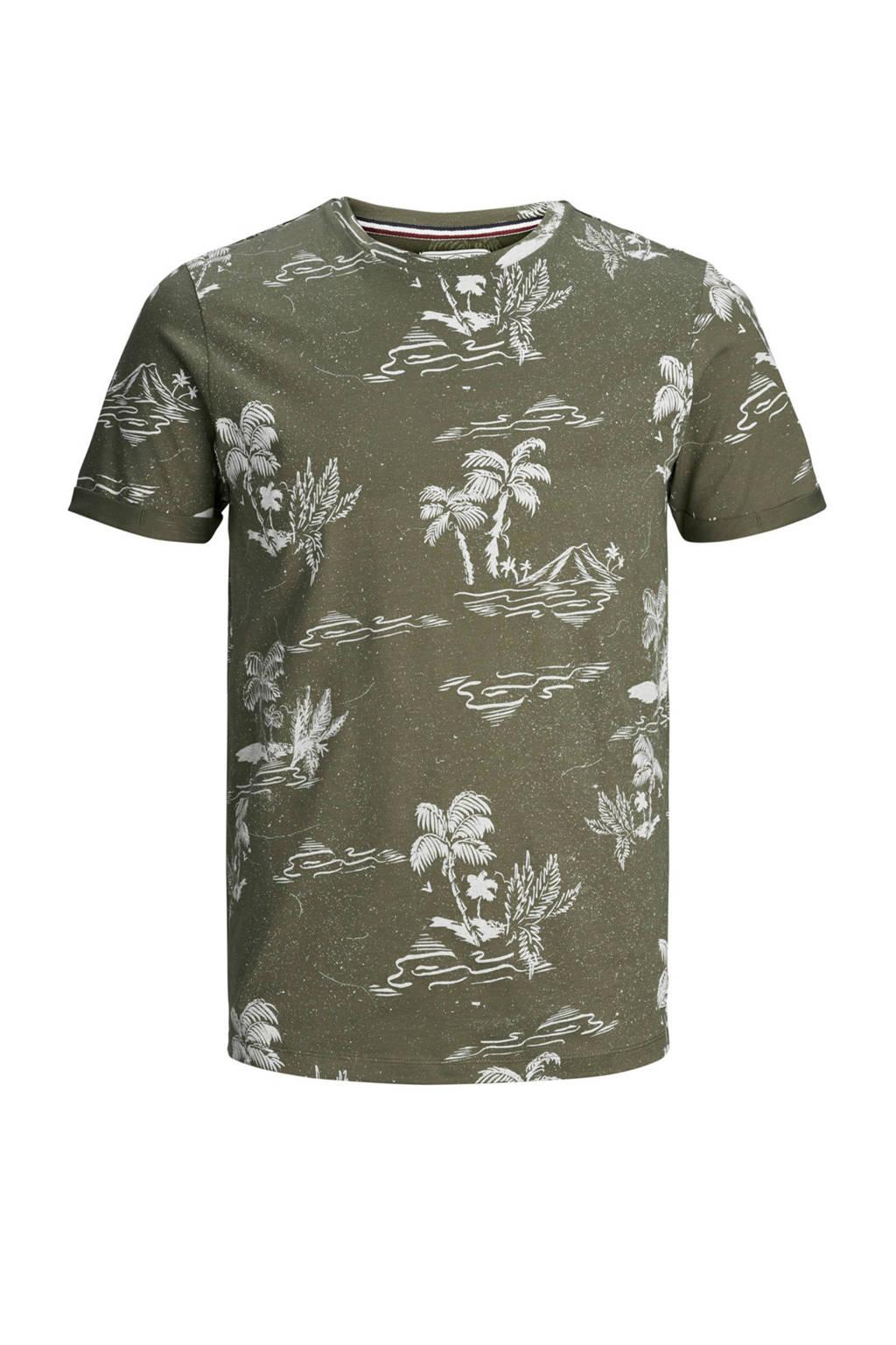 PRODUKT T-shirt met print groen, Groen