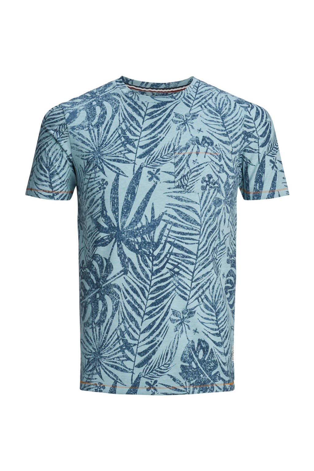 PRODUKT T-shirt met print blauw, Blauw