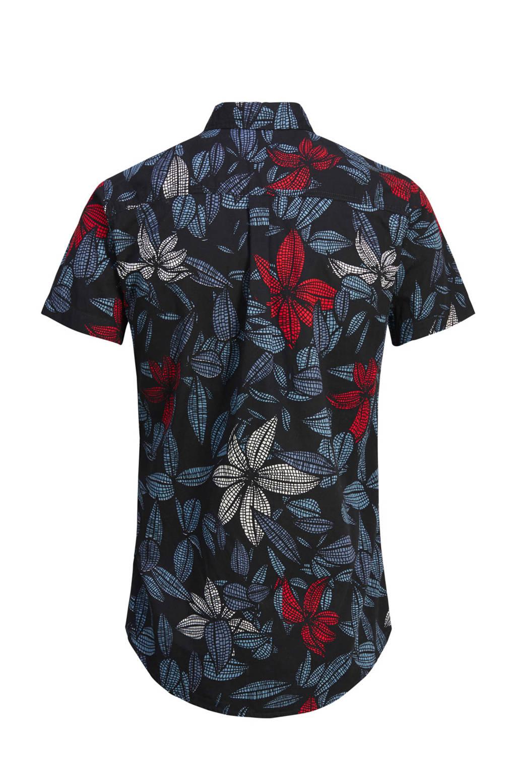 Rood Zwart Overhemd.Produkt Regular Fit Overhemd Met Print Wehkamp