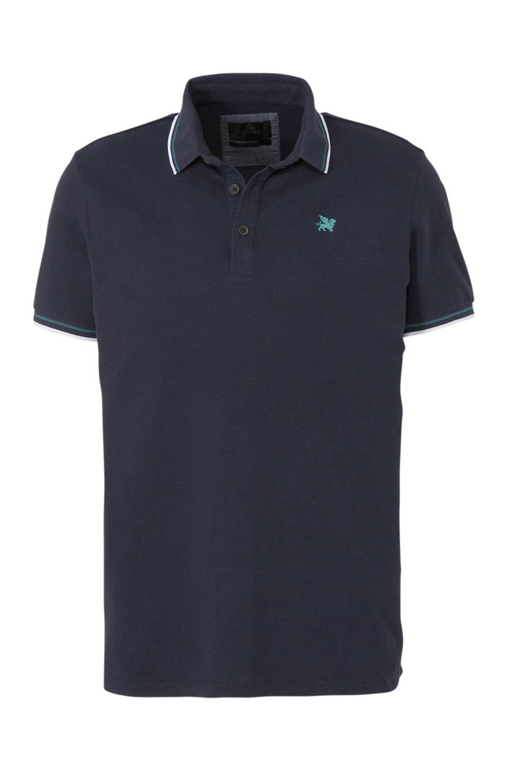 Vanguard regular fit polo marine, Marine