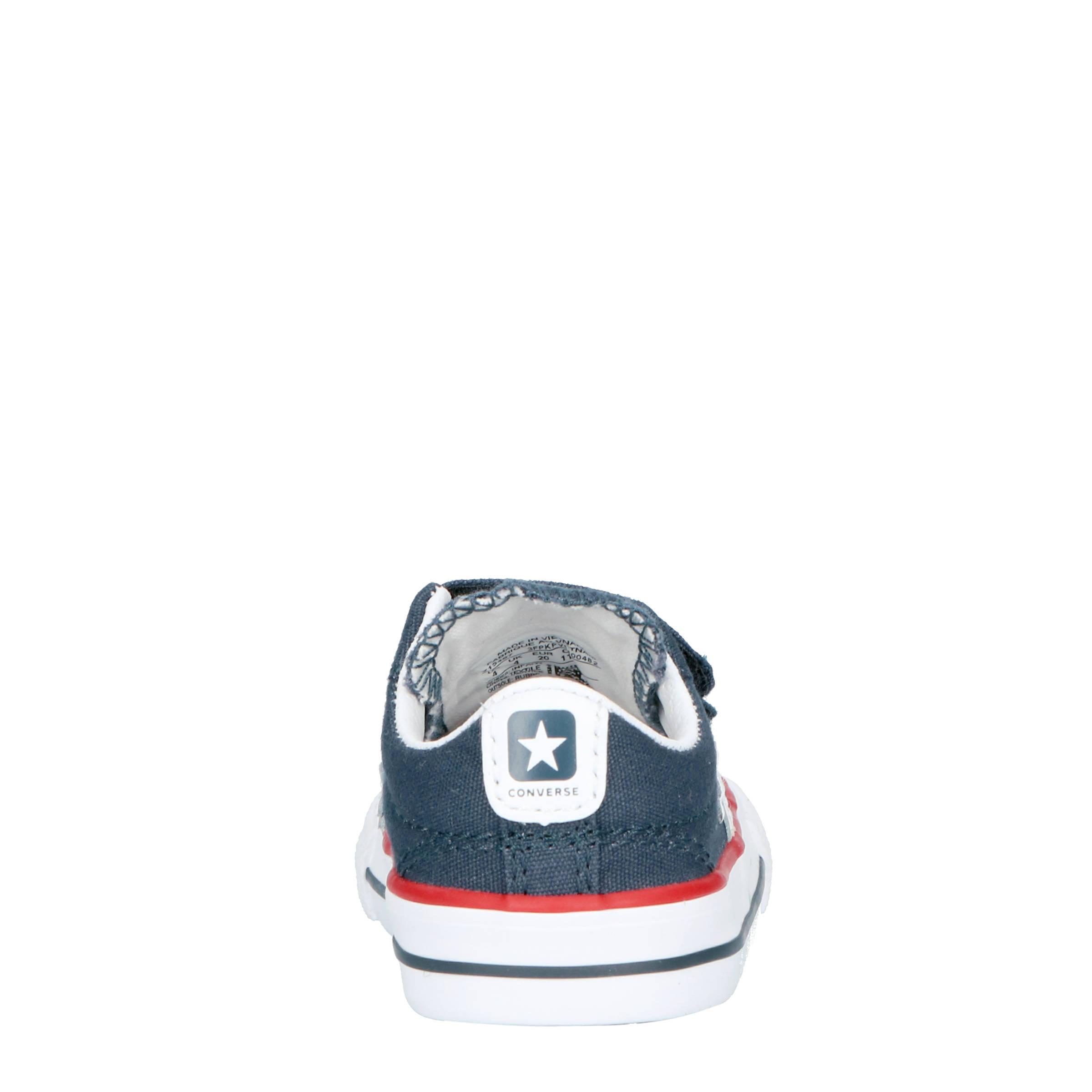 f7015363d5b Converse Star Player sneakers donkerblauw | wehkamp