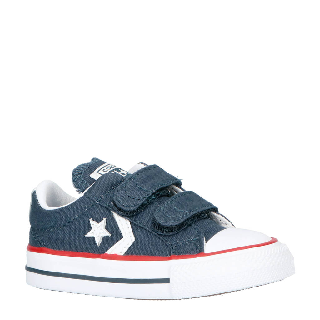 Converse  Star Player sneakers donkerblauw, Donkerblauw/wit/rood