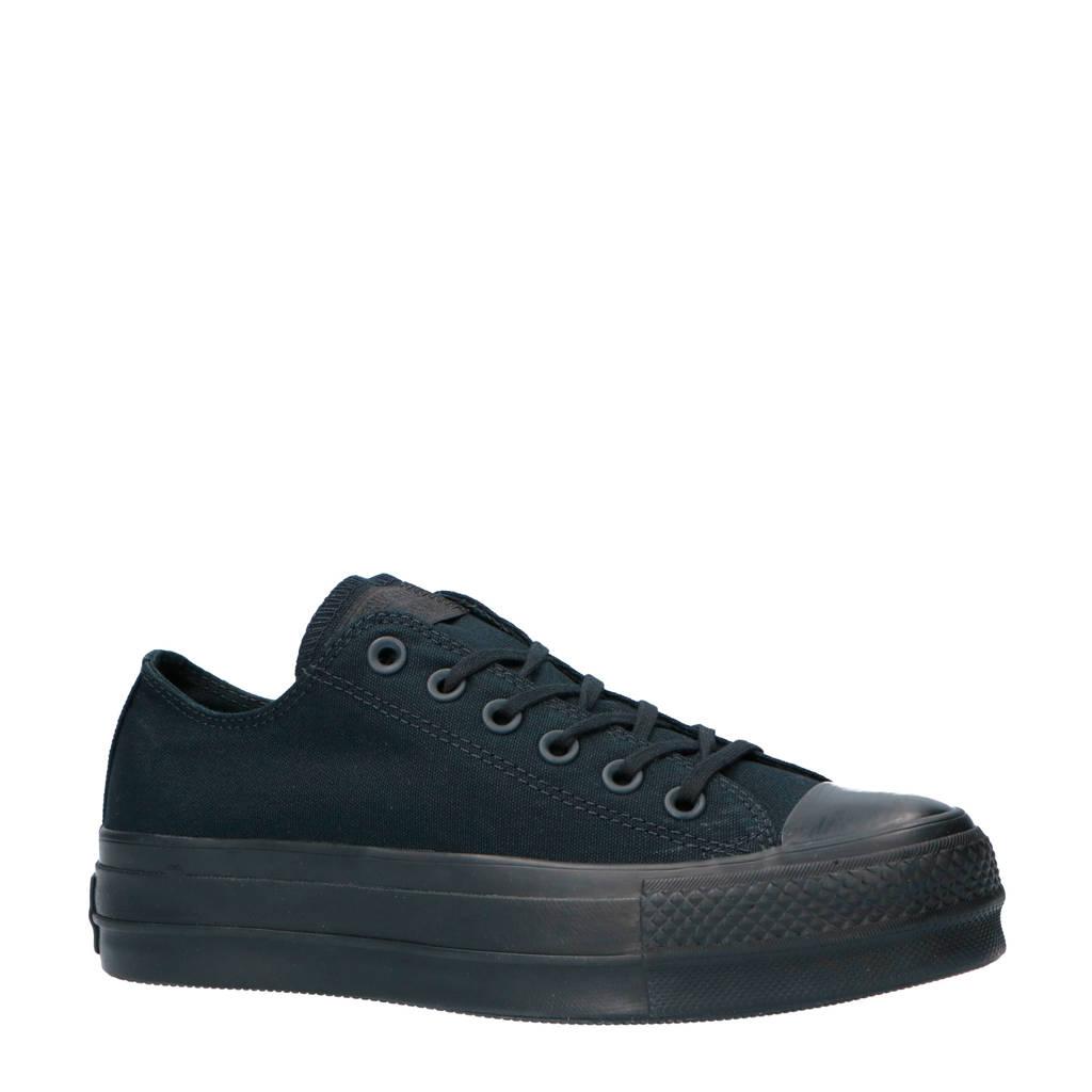 Converse Chuck Taylor All Star Clean Lift Chuck Taylor All Star Clean Lift sneakers zwart, Zwart
