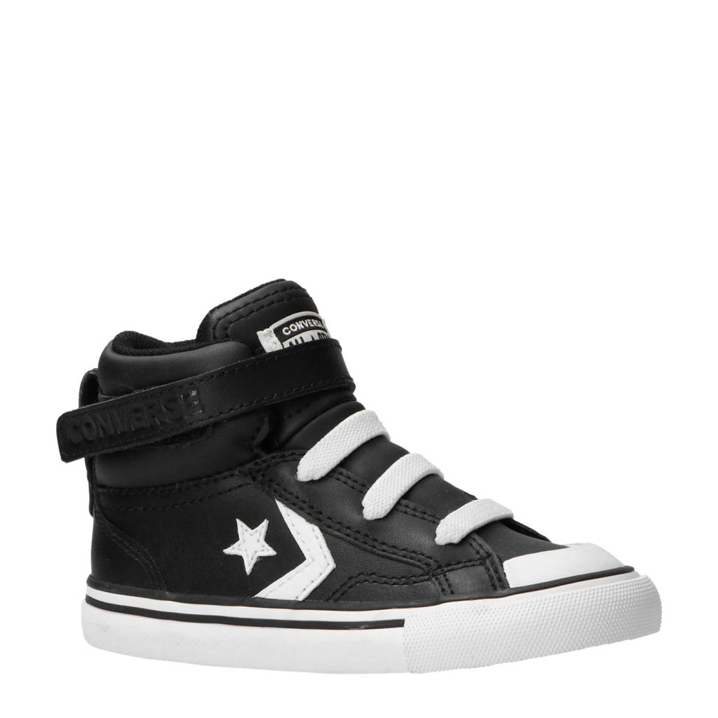 5504b034981 Converse All Star Pro Blaze Strap Hi sneakers zwart/wit, Zwart/wit