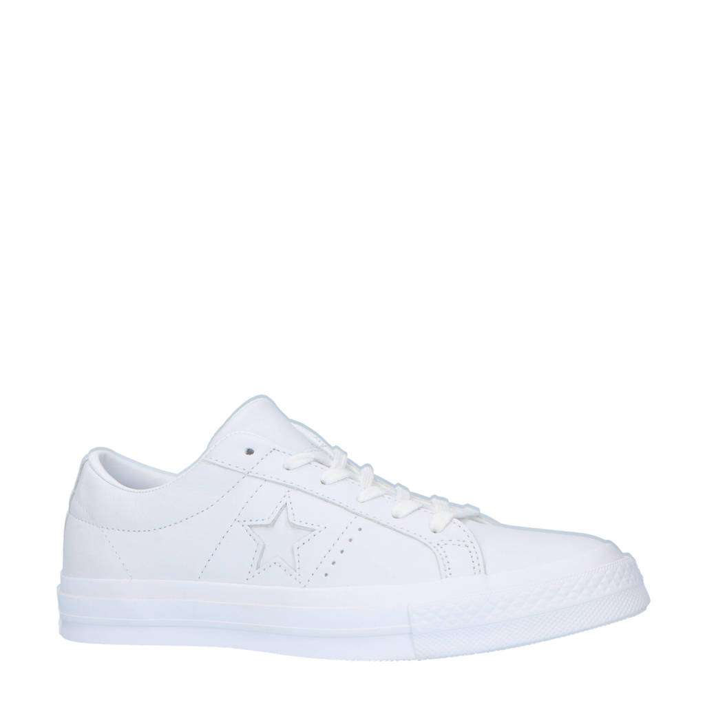 Converse  One Star sneakers wit, Wit