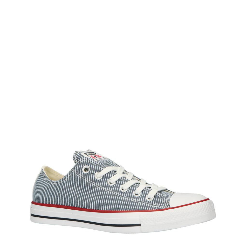 Converse  sneakers blauw/wit, Blauw/wit