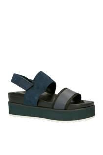 G-Star RAW Core Flatform plateau sandalen donkerblauw
