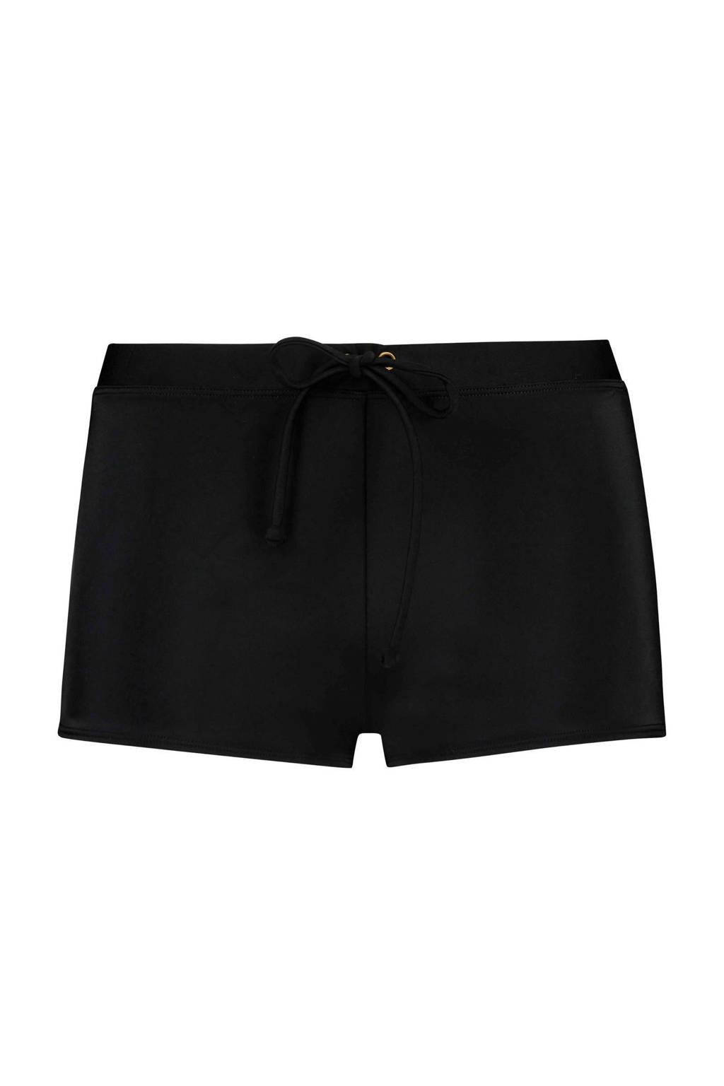 Hunkemöller boxer bikinibroekje basic zwart, Zwart