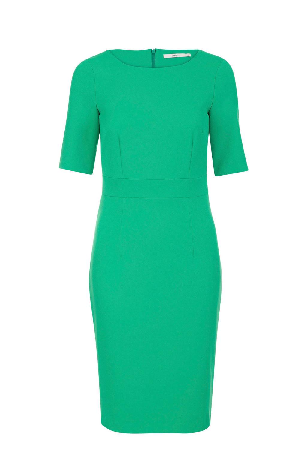 Steps jurk groen, Groen