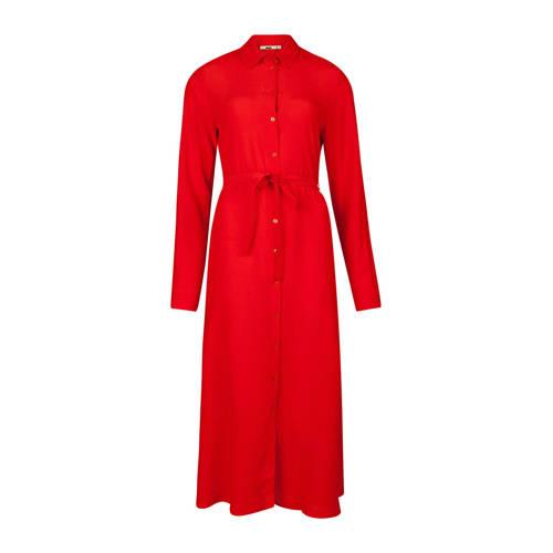 WE Fashion blousejurk rood