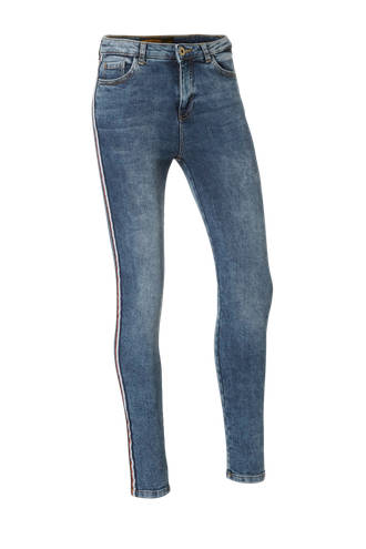 Clockhouse skinny fit jeans blauw