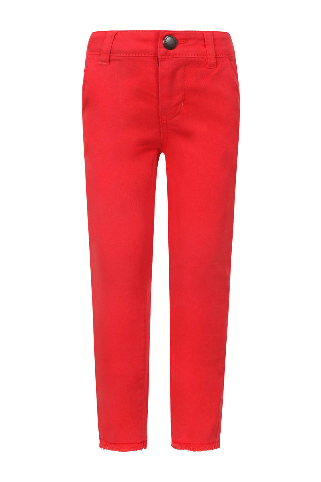 Marc O'Polo slim fit jeans rood, Rood