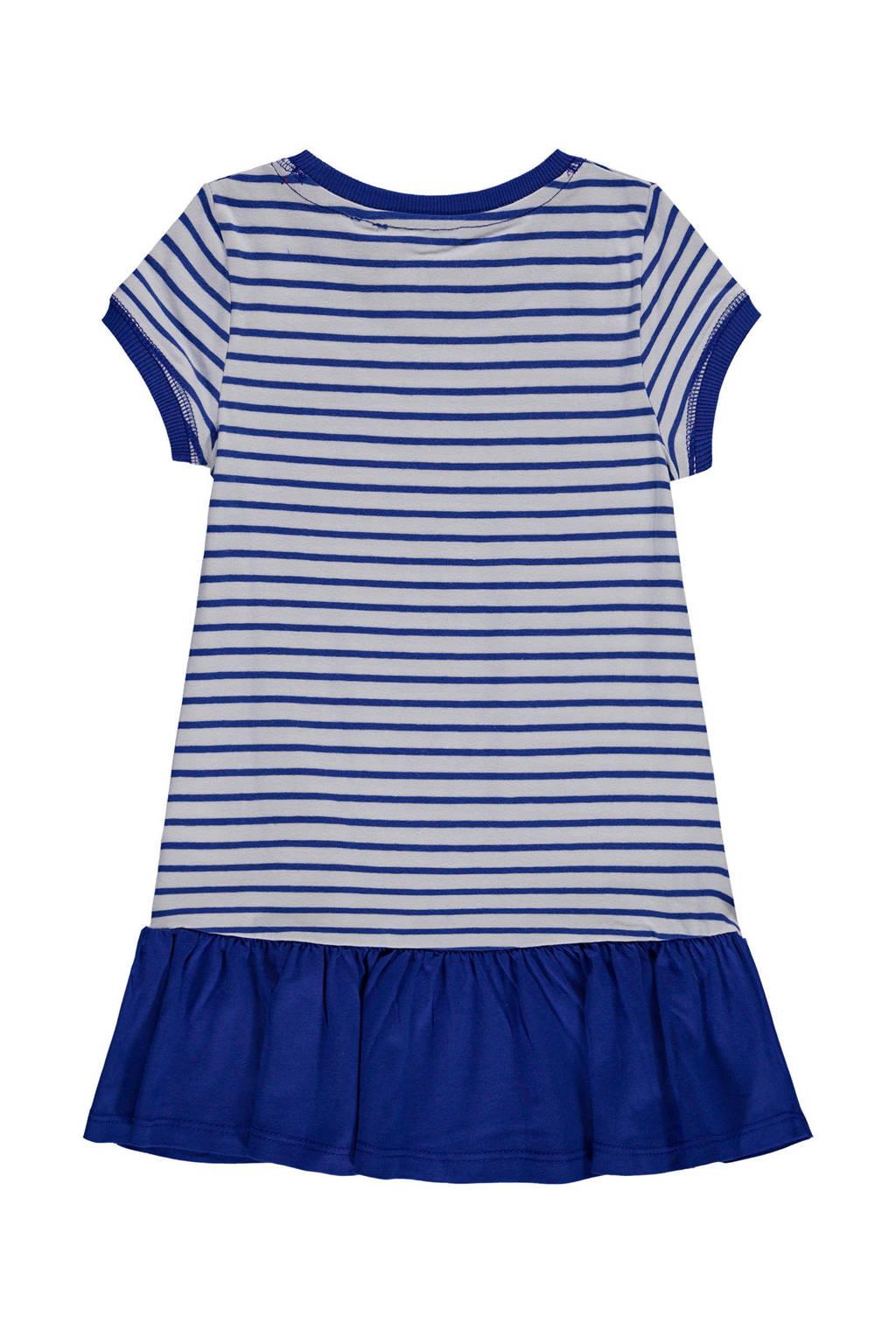 f512fd7310c933 Marc O Polo gestreepte jurk blauw