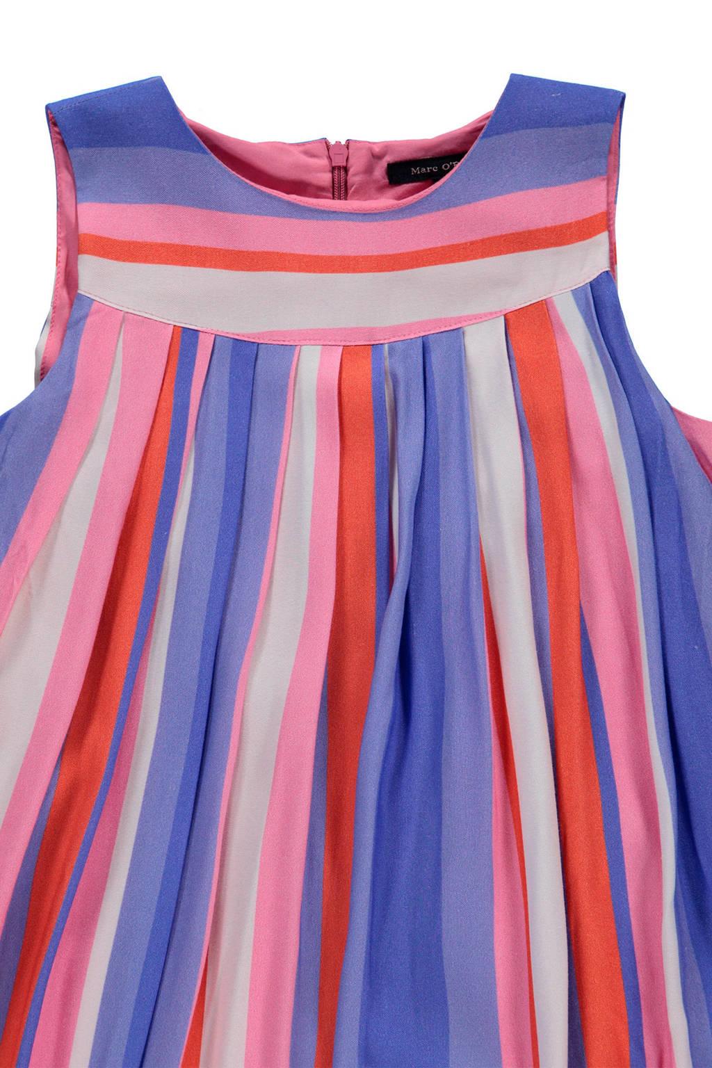 96e4184b981d3a Marc O Polo gestreepte jurk blauw roze
