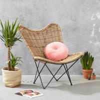 whkmp's own fauteuil Osire, Naturel/zwart