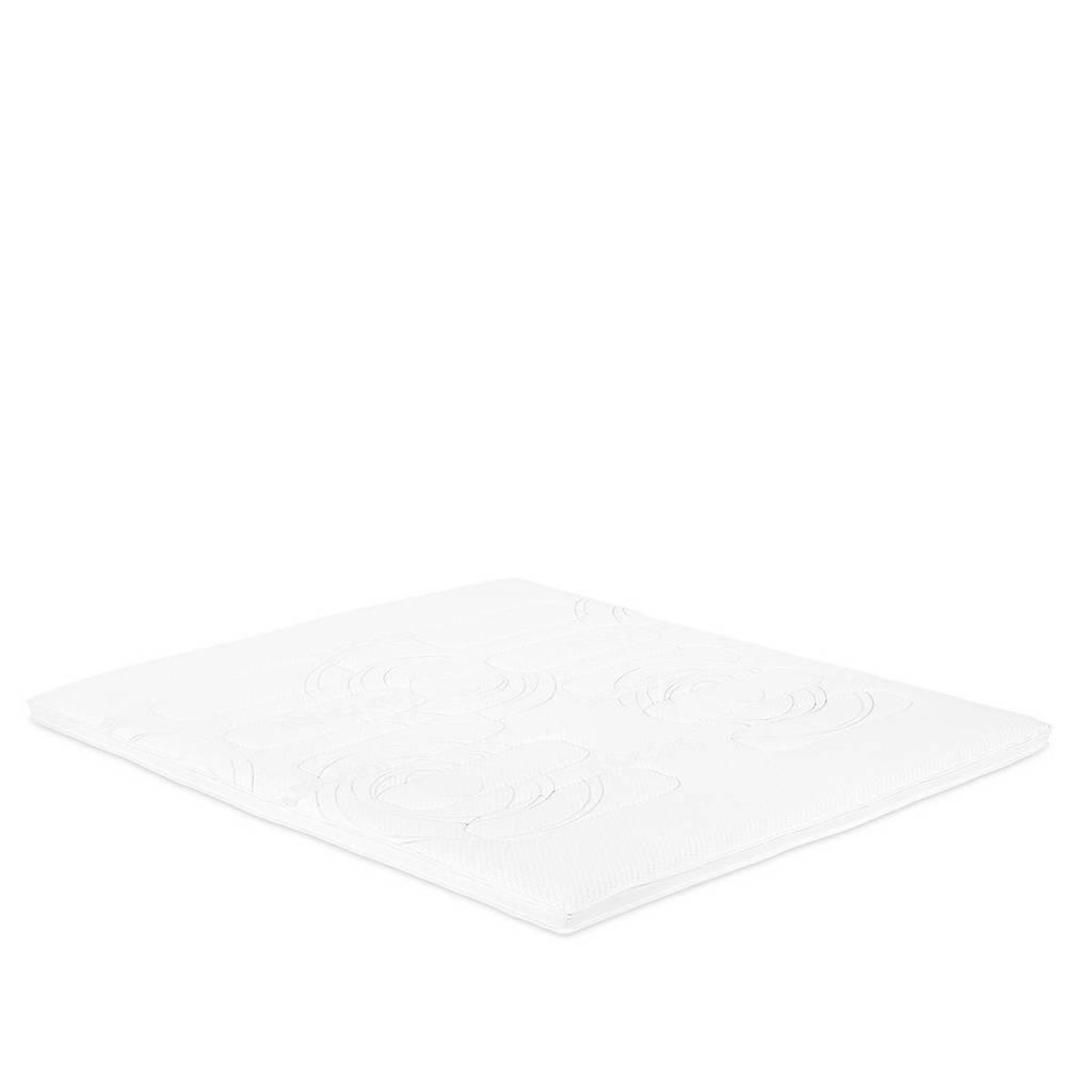 Beddenreus traagschuim topmatras Comfort Visco  (160x200 cm), Wit