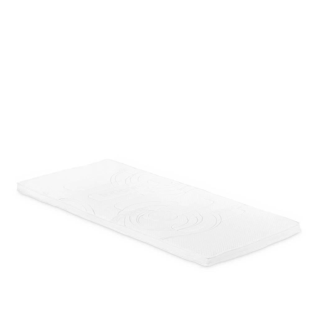 Beddenreus traagschuim topmatras Comfort Visco  (90x210 cm), Wit