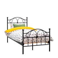 Beddenreus bed Quincy  (90x200 cm), Zwart