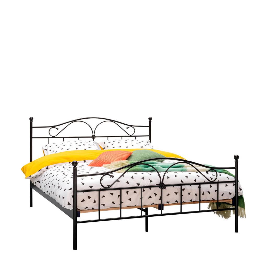 Beddenreus bed Quincy  (140x200 cm), Zwart