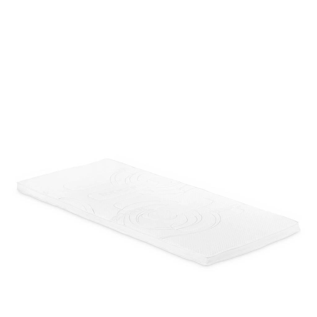 Beddenreus traagschuim topmatras Comfort Visco  (90x200 cm), Wit