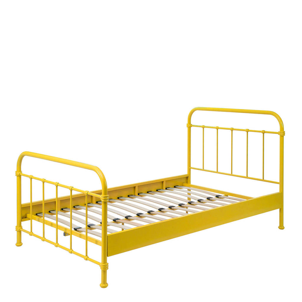 Beddenreus bed New York  (120x200 cm), Geel