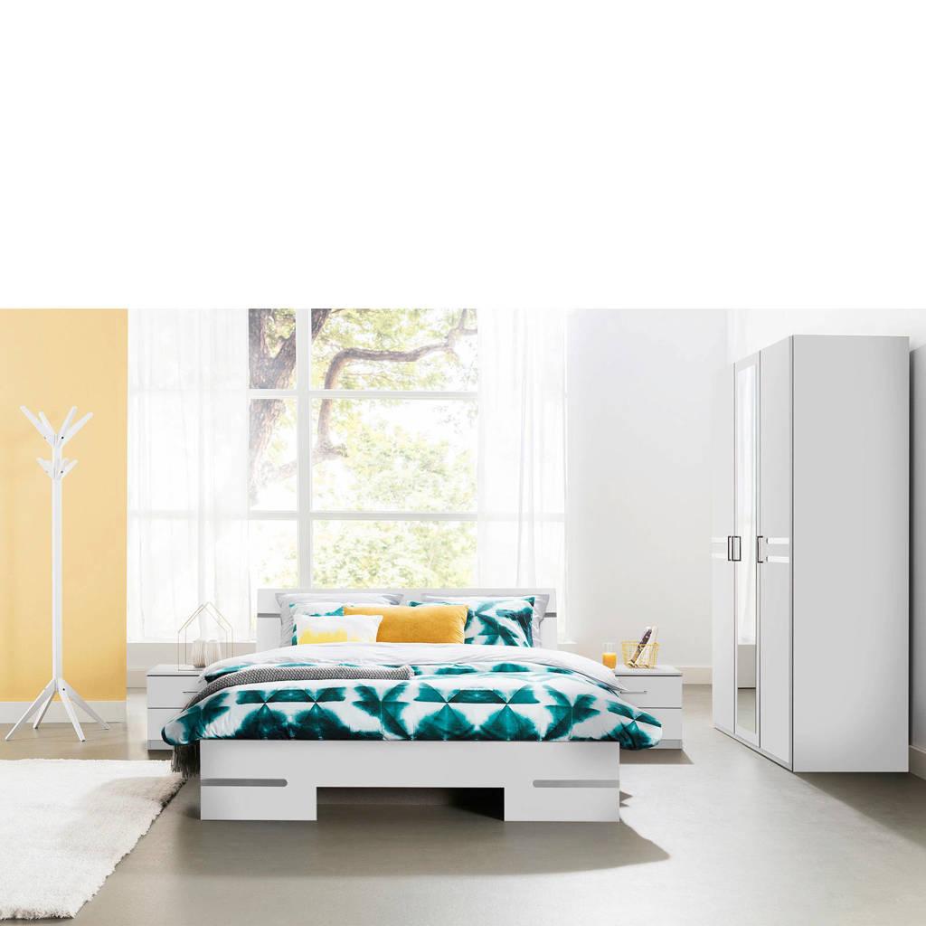 Beddenreus complete slaapkamer Arizona  (140x200 cm), Wit