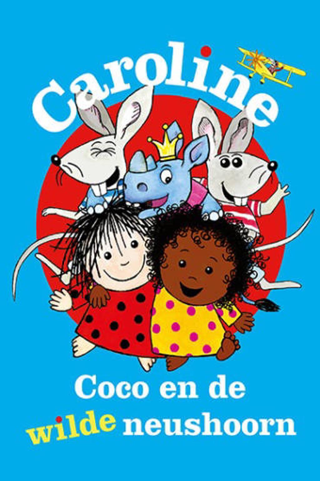 Caroline, Coco en de wilde neushoorn (DVD)