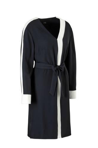 YSS Shop jurk met ceintuur blauw
