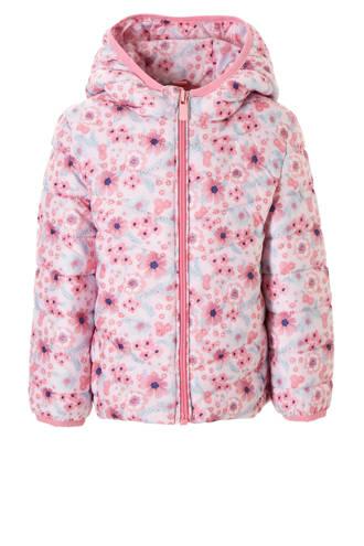 Palomino gebloemde tussenjas roze