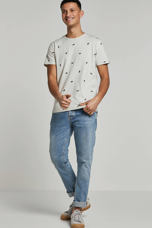 Nudie Jeans slim fit jeans Grim Tim, Light denim