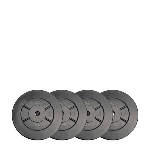Iron Gym 20kg Plate Set, 10kg x 2 kopen