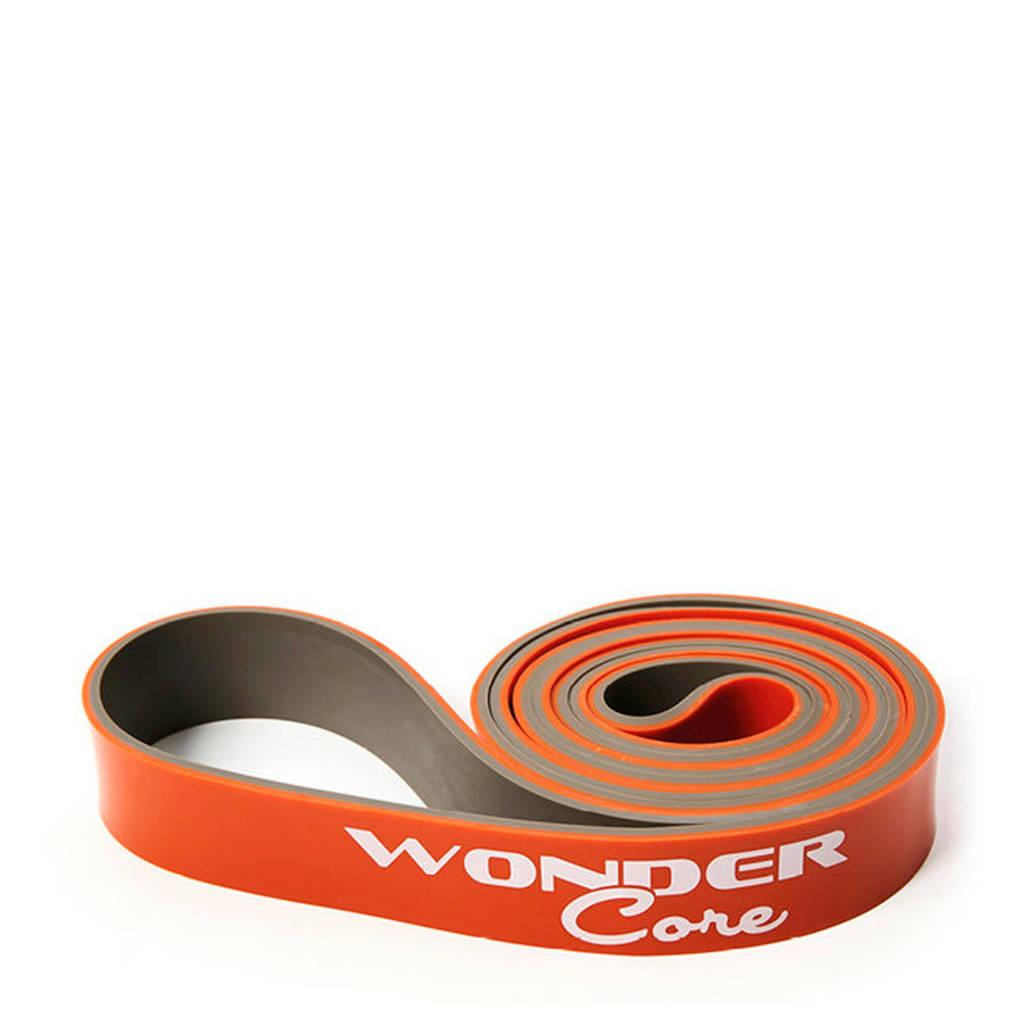 Wonder Core Weerstandsband - Pull Up Band - 3,2 cm - Oranje/grijs