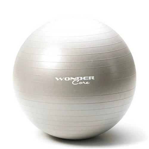 Wonder Core Anti-Burst Gym Ball 65 cm Gray