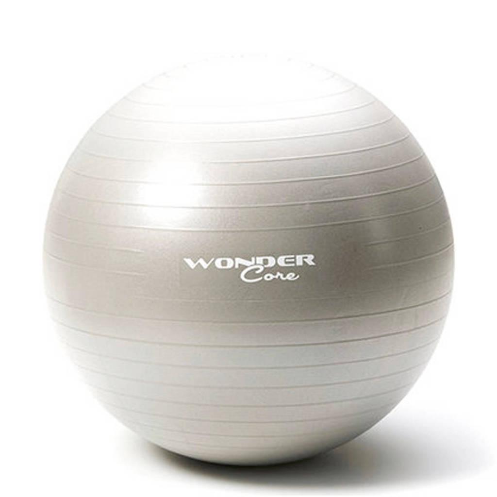Wonder Core Anti-Burst Gym Ball - 65 cm - Lichtgrijs