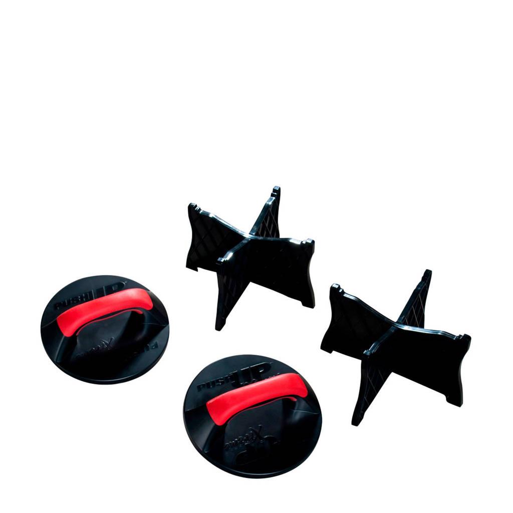 Iron Gym Push Up Max, Zwart/rood