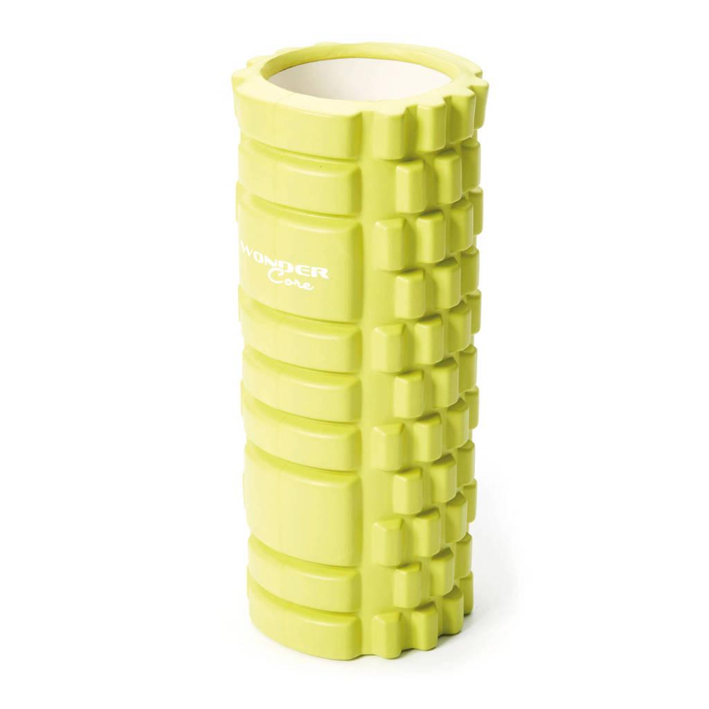 Wonder Core triggerpoint grid foam roller 33 cm  - Groen