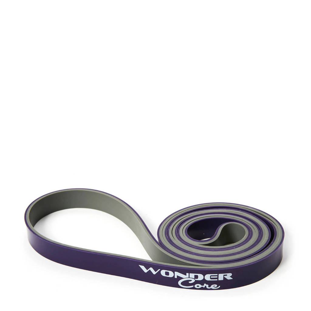 Wonder Core Pull Up Band - 2,1 cm - Paars/grijs