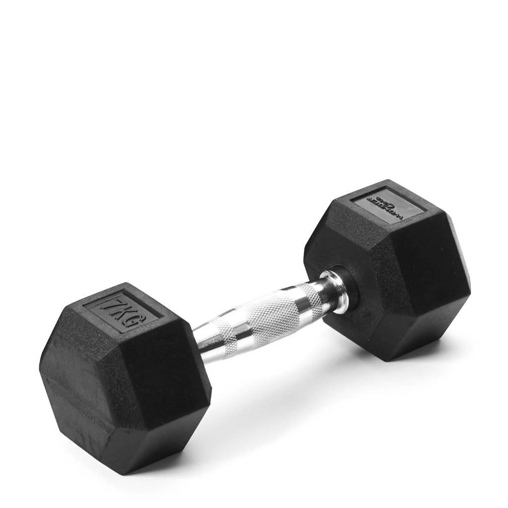 Wonder Core Hex Dumbbell - 7 kg, Zwart