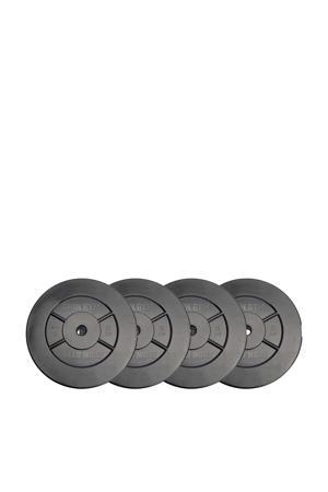 gewichten 20kg Plate Set - 5kg x 4