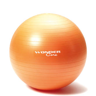 Anti-Burst Gym Ball - 55 cm - Oranje