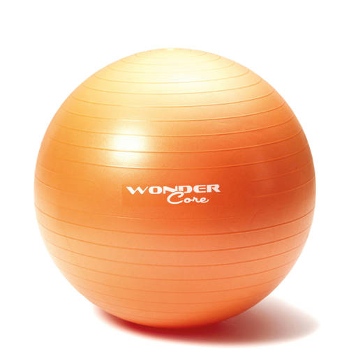 Wonder Core Anti-Burst Gym Ball 65 cm Orange